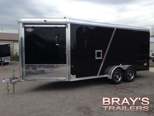 Us Cargo 7 Ameralite All Aluminum Snow Atv Trailer Black