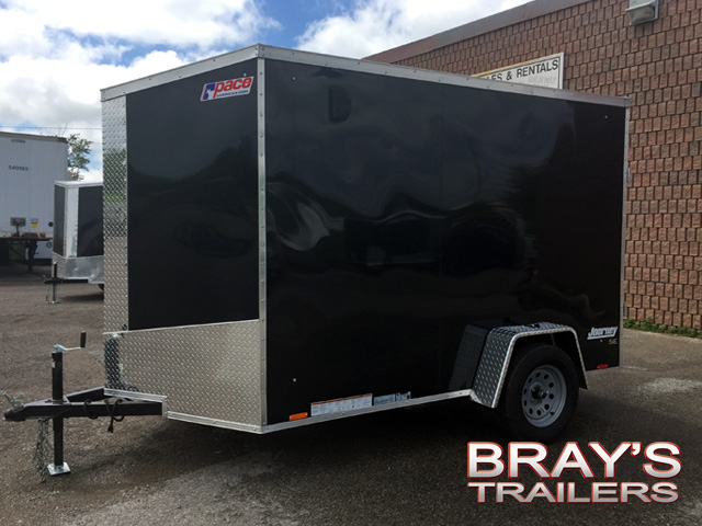 2018 Pace American Journey Se Wedge Nose Single Axle